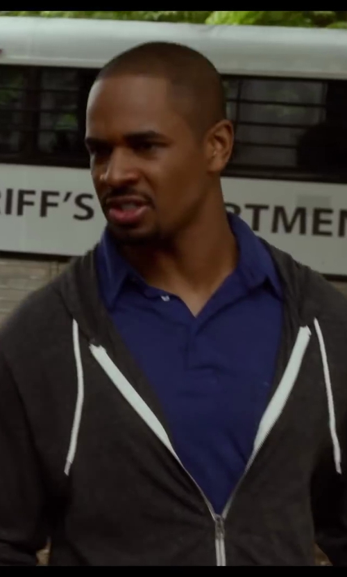 Damon Wayans Jr. with Ps Paul Smith Classic Polo Shirt in Let's Be Cops