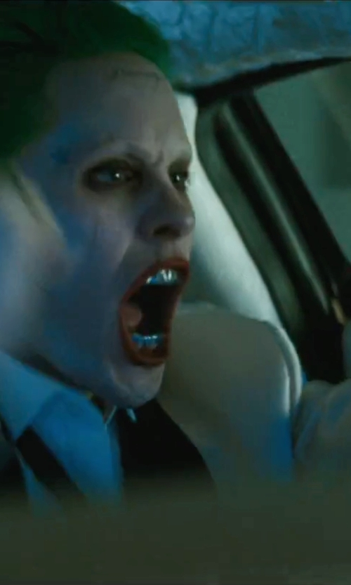 Jared Leto with Noose And Monkey Tuxedo Jacket in Suicide Squad