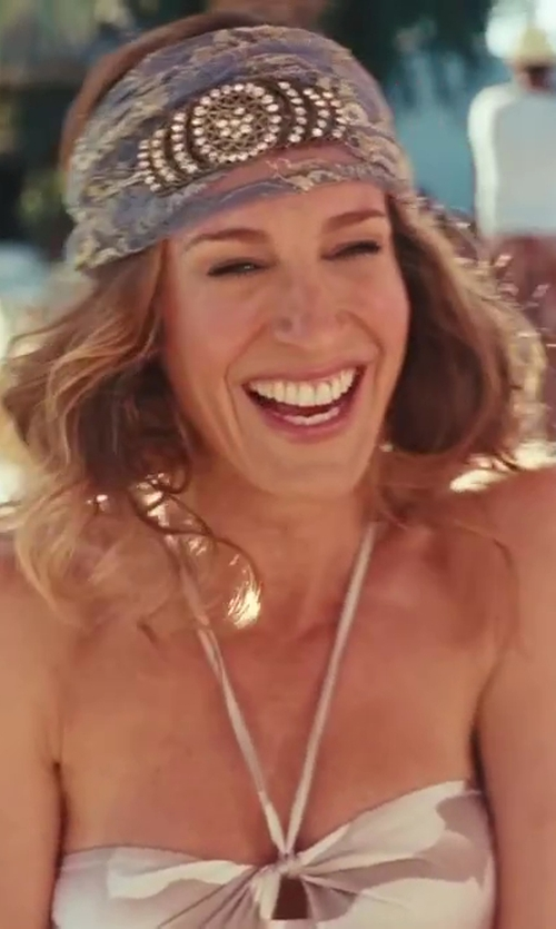 Sarah Jessica Parker with Vintage Diamond Headband Selected by Patricia Field (Costume Designer) in Sex and the City 2