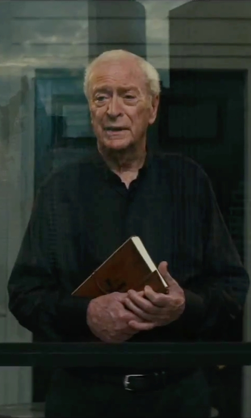 Michael Caine with Boss 'Gulio' Regular Fit Dress Shirt in The Last Witch Hunter