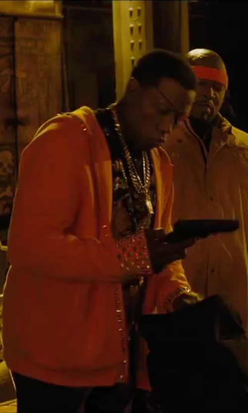 Wesley Snipes with Threads 4 Thought Triblend Zip Hoodie in Chi-Raq