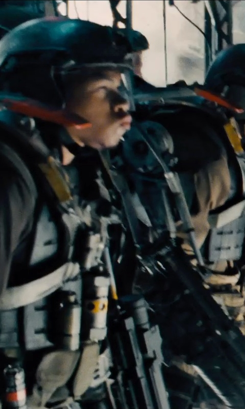 Unknown Actor with Kate Hawley (Costume Designer) Custom Made Power Armor Suit (Soldier) in Edge of Tomorrow