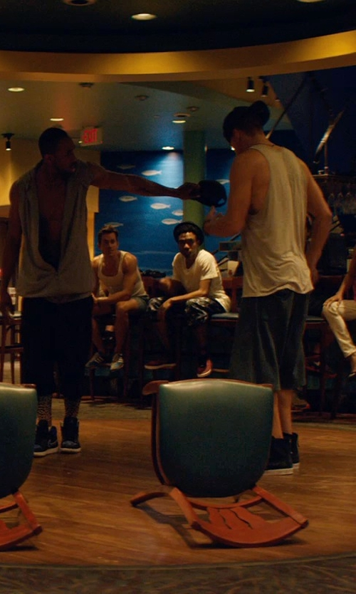 Matt Bomer with Adidas Originals Fashion Sneakers in Magic Mike XXL