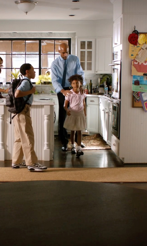 Unknown Actor with French Toast Little Girls' Uniform Pleated Ribbon Scooter Skirt in Addicted