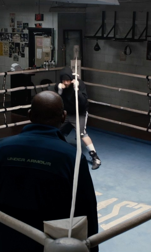 Jake Gyllenhaal with Adidas Pro Bout Boxing Boot in Southpaw