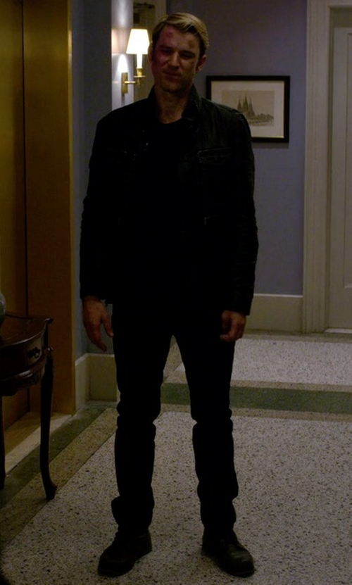 Wil Traval with Eastland 1955 Edition High Fidelity Boots in Jessica Jones