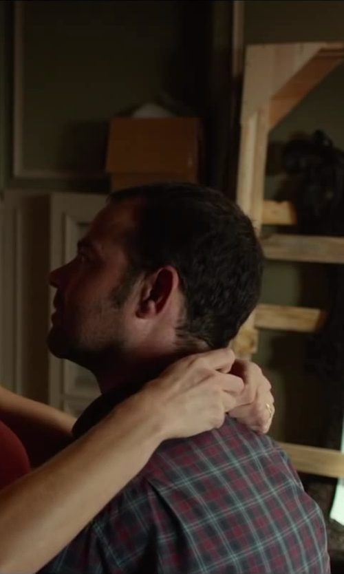 Rory Cochrane with MARC BY MARC JACOBS DOUBLE-FACED PLAID COTTON-FLANNEL SHIRT in Oculus