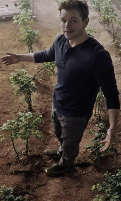Matt Damon with Reigning Champ Mid Weight Terry Sweatpants in The Martian