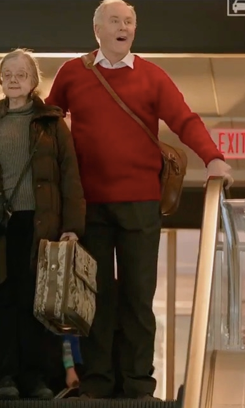 John Lithgow with Todd Snyder Wool Officer Pants in Daddy's Home 2