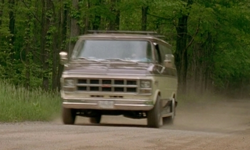 Ken Marino with GMC 1978 Rally STX Van in Wet Hot American Summer
