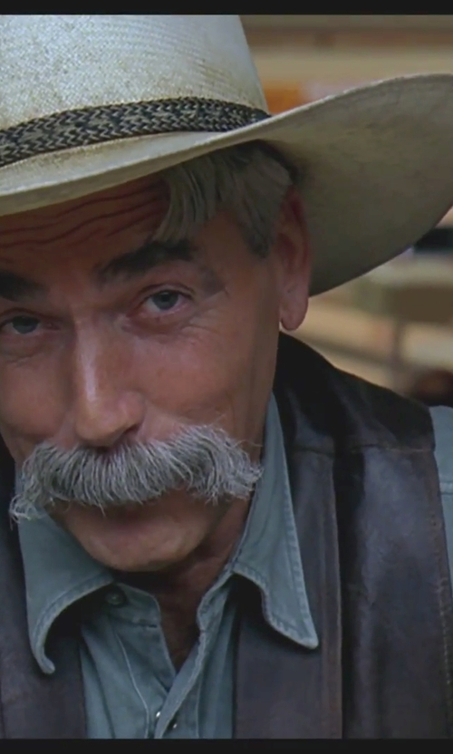 Sam Elliott with DSquared2 Classic Western Shirt in The Big Lebowski