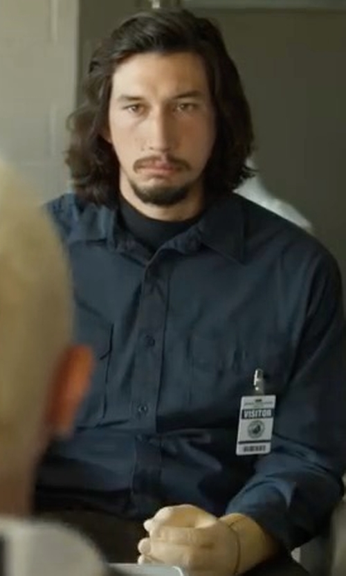 Adam Driver with Native Youth Encode Shirt in Logan Lucky