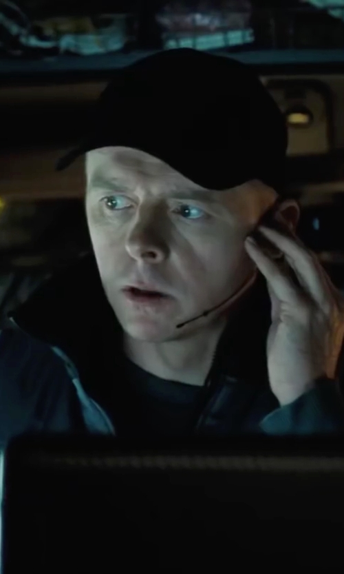 Simon Pegg with Spanx Flex-Touch Crew Neck T Shirt in Mission: Impossible - Ghost Protocol