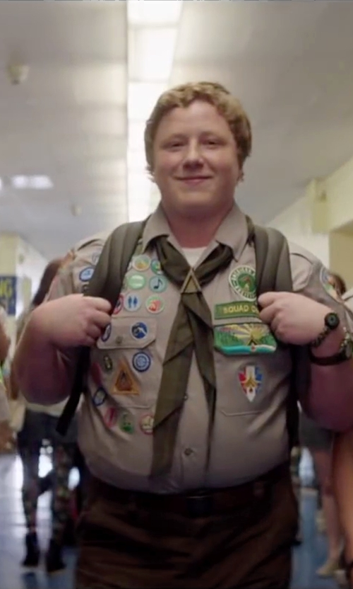 Joey Morgan with Icanvasbags Scout Field Backpack in Scout's Guide to the Zombie Apocalypse