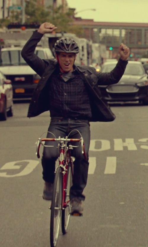Ben Stiller with Bell Marker Aero Road Bike Helmet in While We're Young