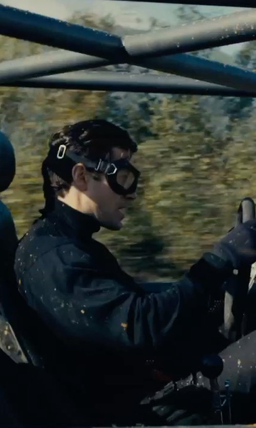 Henry Cavill with Bobster Eyewear Night Hawk OTG Goggles in The Man from U.N.C.L.E.