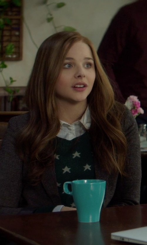 Chloë Grace Moretz with Cooperative Suzy Pullover Sweater in If I Stay
