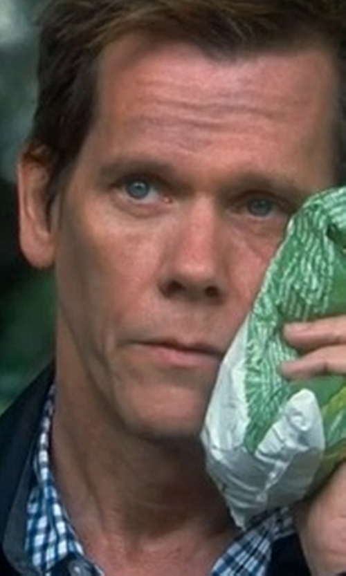Kevin Bacon with Seiko Kinetic Retrograde Leather Strap Watch in Crazy, Stupid, Love.