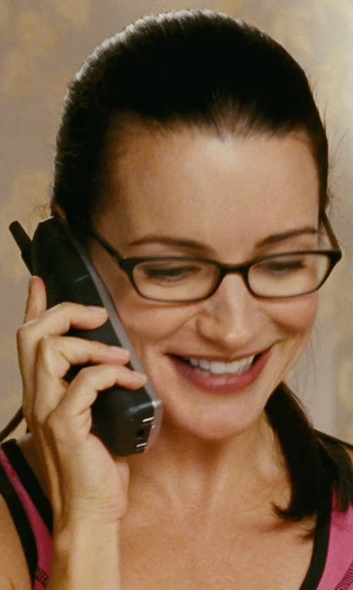 Kristin Davis with Nike Advantage Court Tank Top in Sex and the City