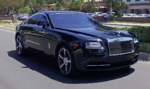 Scott Disick with Rolls Royce Wraith Coupe in Keeping Up With The Kardashians
