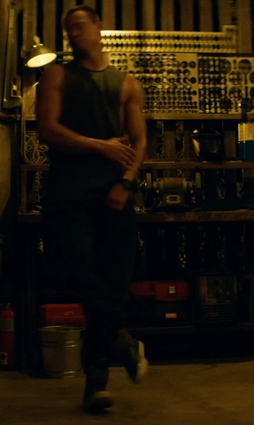 Channing Tatum with Creative Recreation Adonis Sneakers in Magic Mike XXL