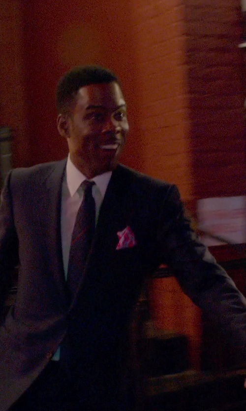 Chris Rock with Armani Collezioni Virgin Wool Blend Suit in Top Five