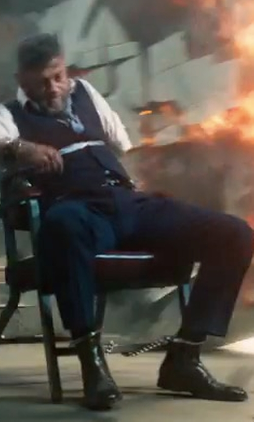 Andy Serkis with Dr. Martens Victor Chelsea Boots in Black Panther