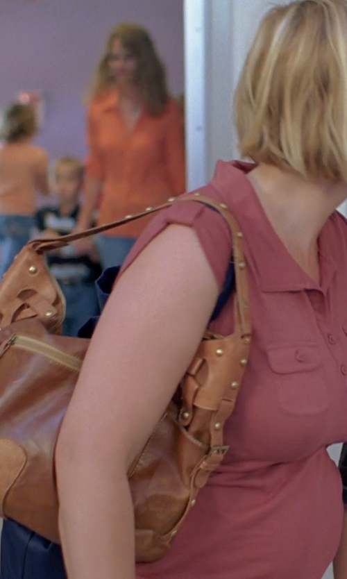Patricia Arquette with Cole Haan Felicity Hobo Bag in Boyhood