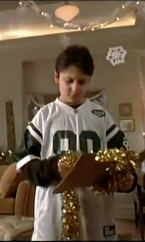 Daniel Tay with Nike New York Jets Custom Youth Game Jersey in Elf
