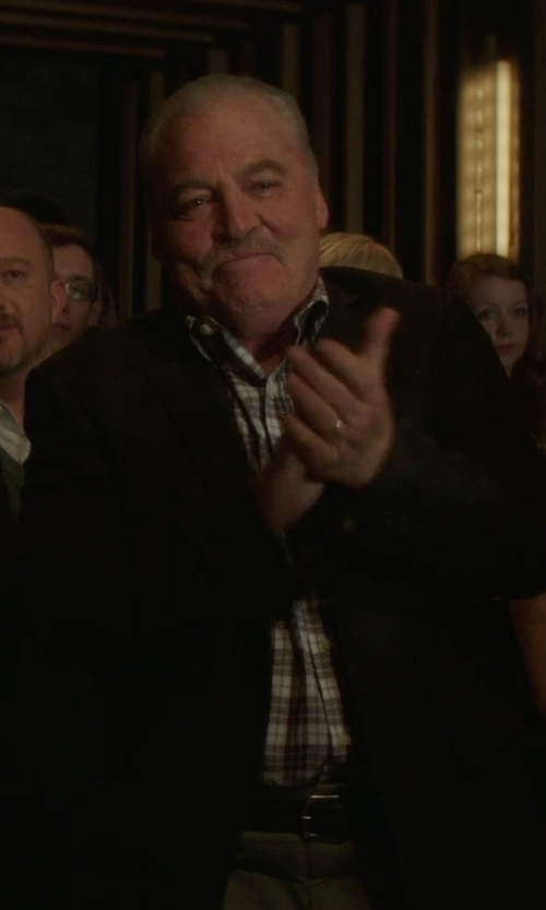 Stacy Keach with Simbols Casual Pants in If I Stay