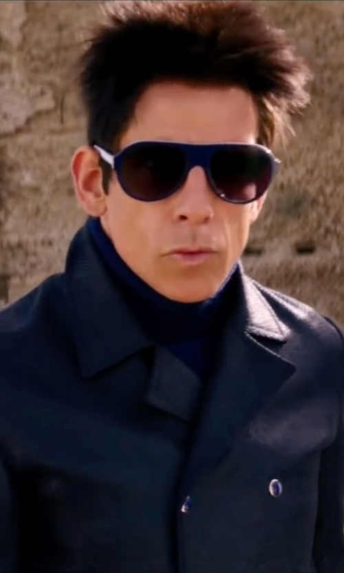 Ben Stiller with Carrera Aviator Sunglasses in Zoolander 2