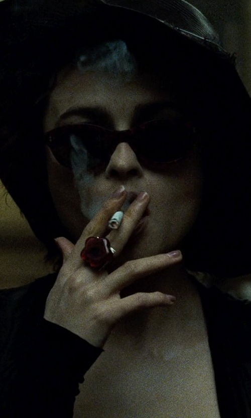 Helena Bonham Carter with Janey&Rubbins Women Kentucky Derby Hat in Fight Club