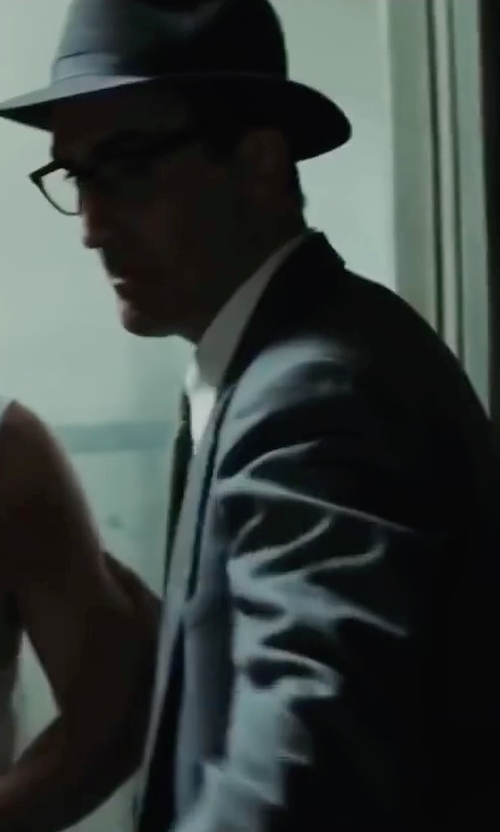 Victor Verhaeghe with Neiman Marcus Two-Piece Neat Wool Suit, Light Gray in Bridge of Spies