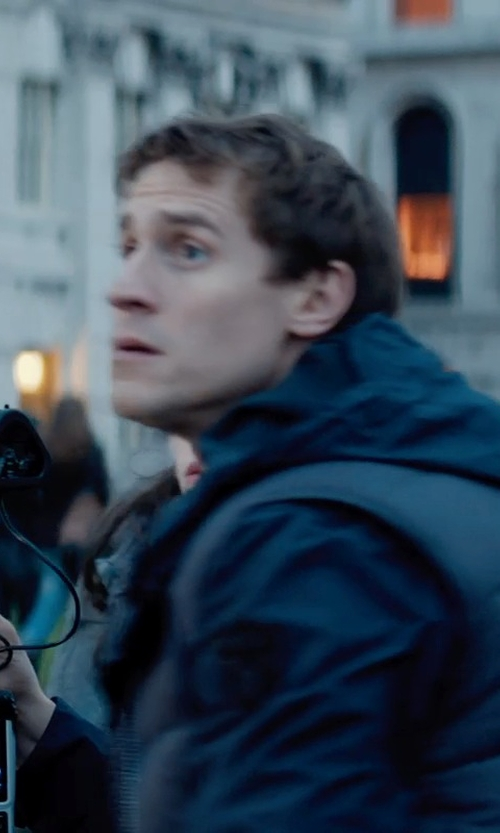 Jonathan Howard with Marmot Stockholm Vest in Thor: The Dark World