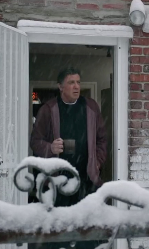 Sylvester Stallone with Fadeless Crew Neck Sweatshirt in Creed