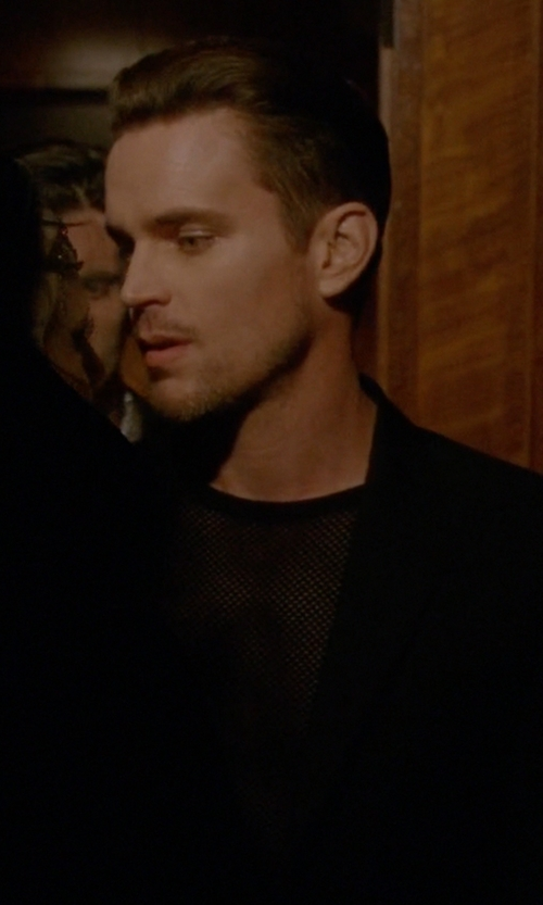 Matt Bomer with Numero 00 Mesh & Jersey Tank Top in American Horror Story