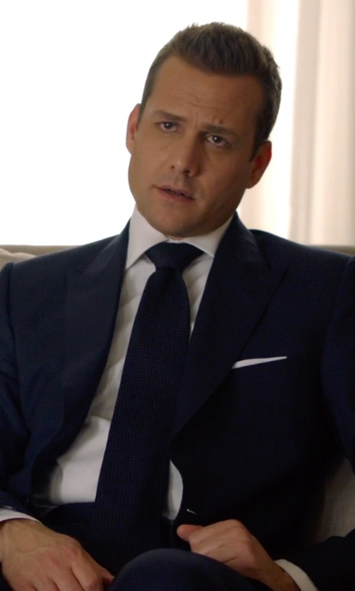 Gabriel Macht with Tom Ford Windsor Base Windowpane Two-Piece Suit in Suits