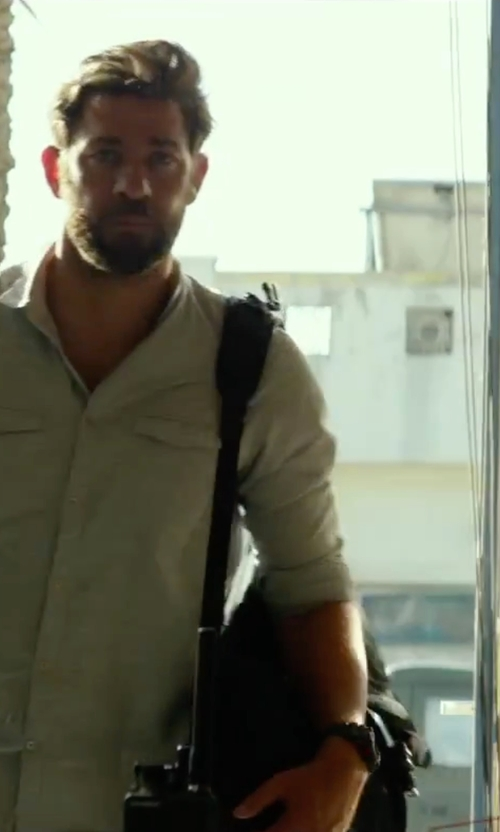 John Krasinski with High Sierra Swerve Backpack in 13 Hours: The Secret Soldiers of Benghazi