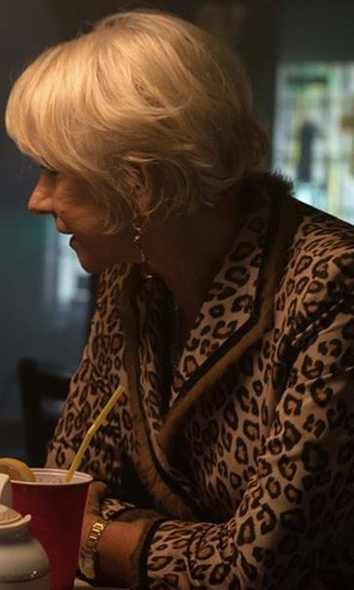 Helen Mirren with Burberry City Two-Tone Bracelet Watch in The Fate of the Furious