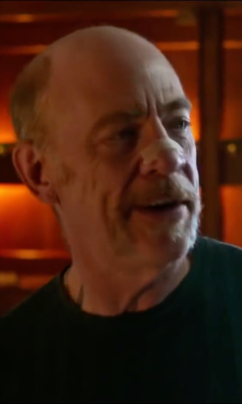 J.K. Simmons with Publish Mono Asius Tank Top in Bastards