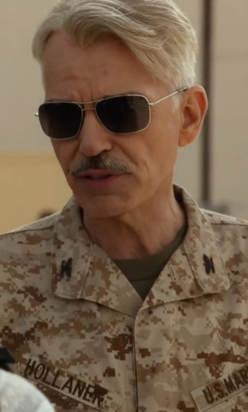 Billy Bob Thornton with Revo Freeman Sunglasses in Whiskey Tango Foxtrot