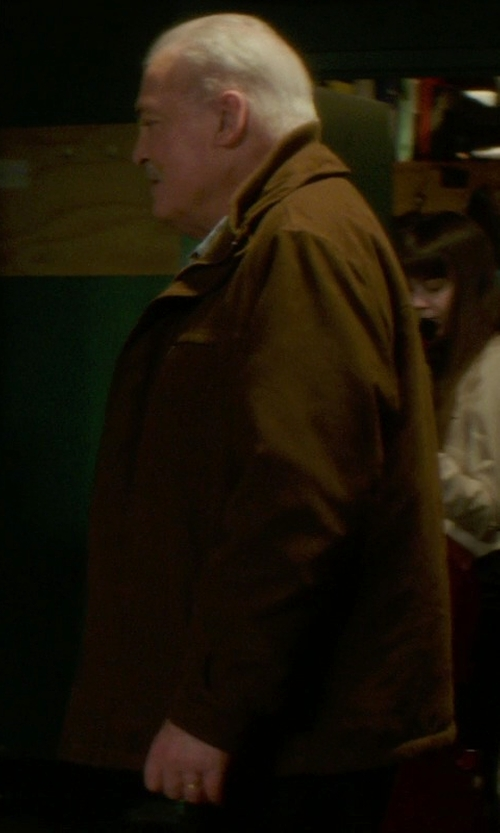Stacy Keach with Todd Snyder Nubuck Jacket in If I Stay