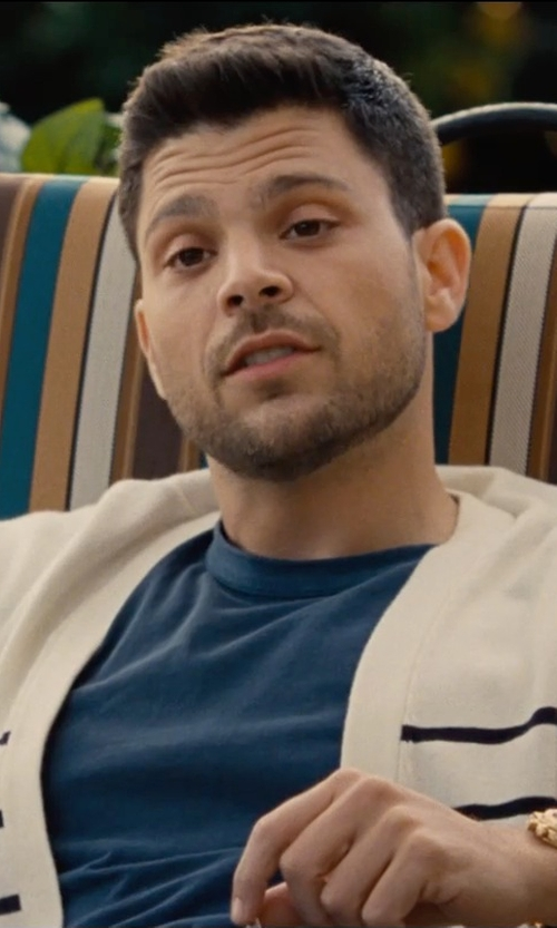 Jerry Ferrara with Audemars Piguet Royal Oak Rose Gold Chronograph in Entourage