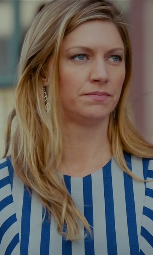 Jes Macallan with Michelle Mason Cut Out Asym Dress in Mistresses