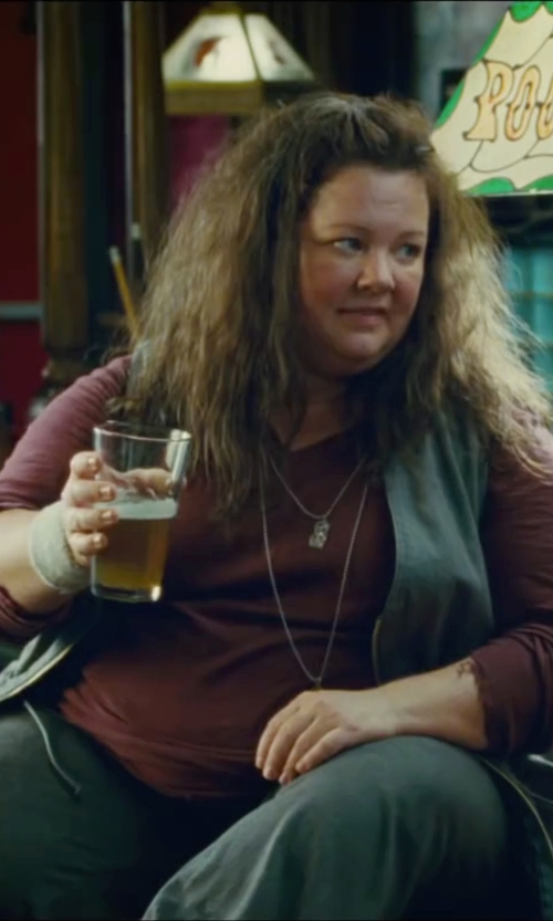 Melissa McCarthy with Olive+Oak Cabernet Top in The Heat