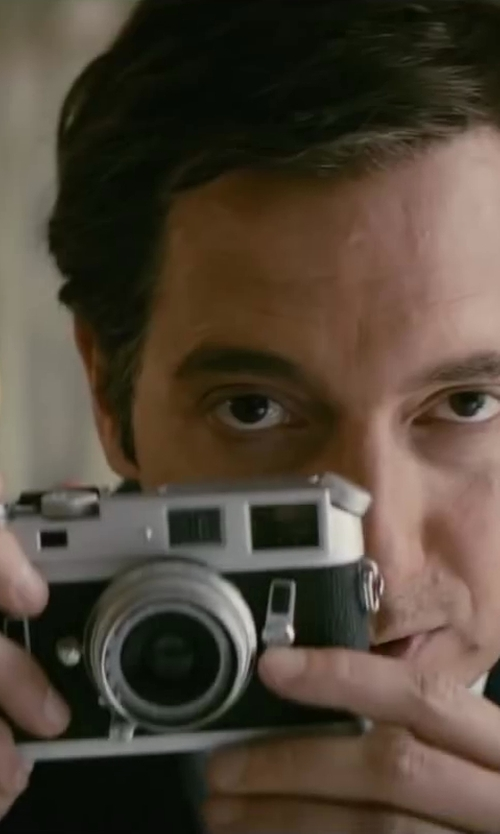 Guillaume Gallienne with Leica M7 Rangefinder 35mm Camera in Yves Saint Laurent