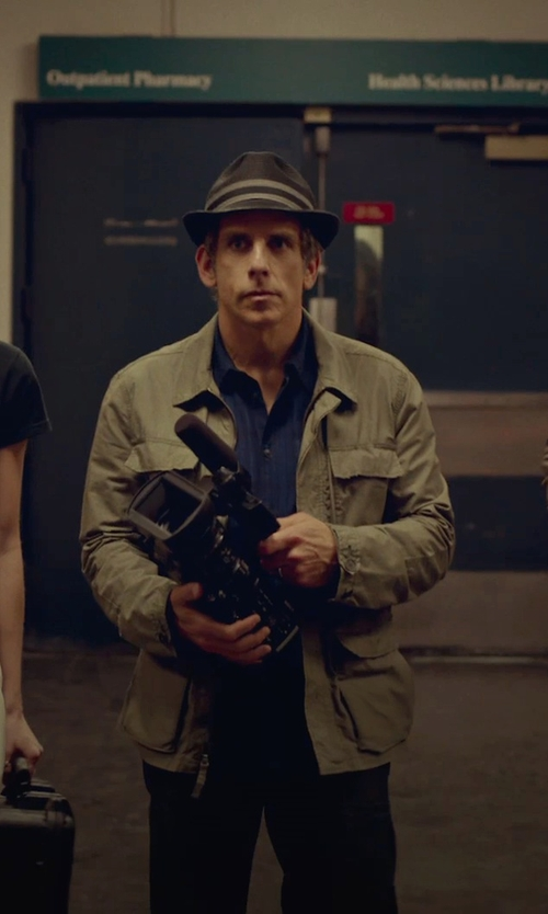 Ben Stiller with Arrow Short Sleeve Button Down Shirt in While We're Young