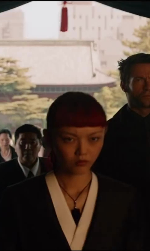 Rila Fukushima with Mikyri Women's Necklace in The Wolverine