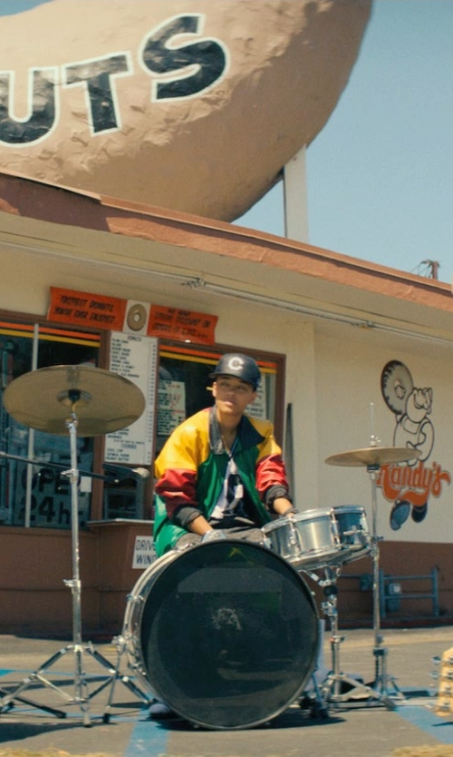 Kiersey Clemons with Mendini Drum Set in Dope