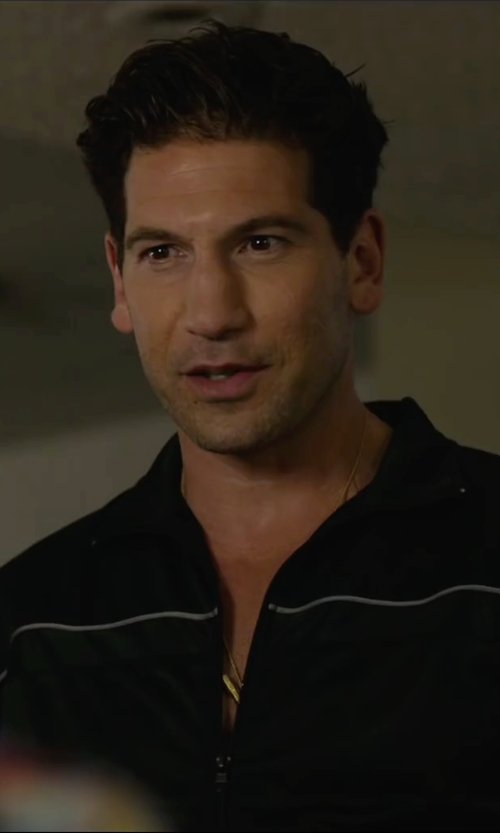 Jon Bernthal with Dsquared2 Logo Detail Necklace in We Are Your Friends